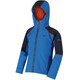 Regatta Acidity II Jacket Kids Skydiver Blue/Navy Reflective/Amber Glow